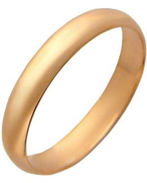 Кольцо позолоченное - желтое эстет