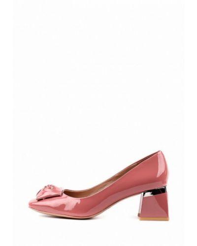 Розовые кожаные туфли Sasha Fabiani