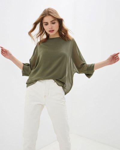 Блузка зеленый хаки Wallis