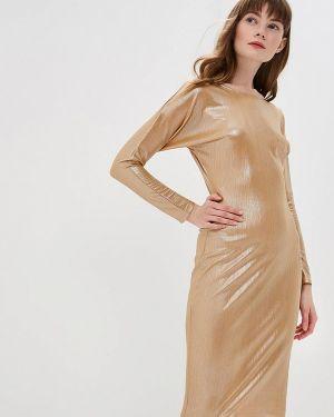 Вечернее платье - золотое D&m By 1001 Dress
