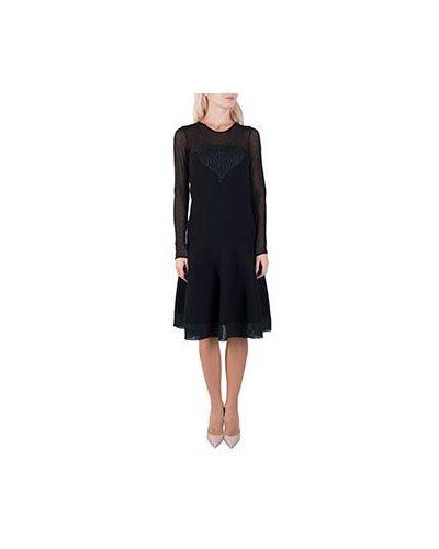 Хлопковое платье - черное Piccione•piccione