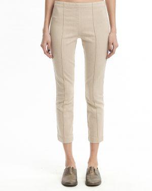 Укороченные брюки зауженные стрейч The Row