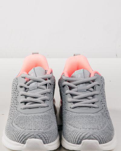 Текстильные серые кроссовки Baas