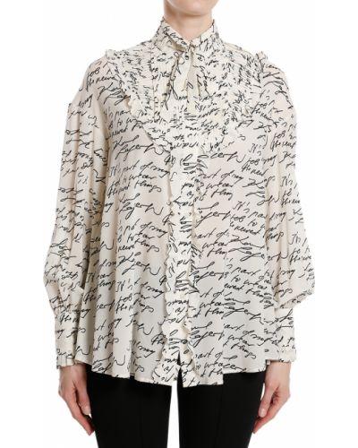 Белая блузка Karl Lagerfeld