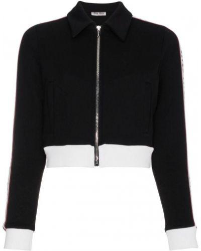 Спортивная куртка черная Miu Miu