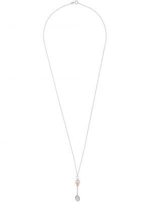 Серебряное ожерелье с подвесками с черепами True Rocks