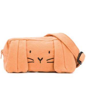 Оранжевая сумка Emile Et Ida