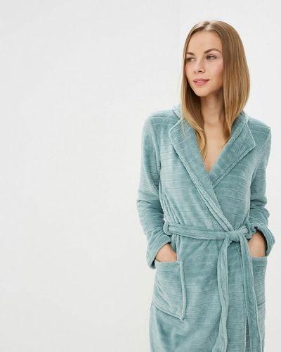 Бирюзовый халат домашний Women'secret