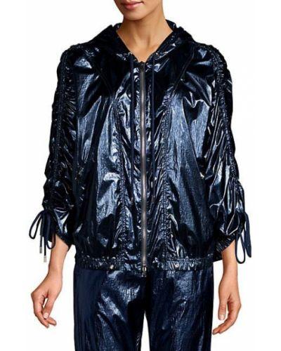 Нейлоновая куртка с капюшоном с манжетами Robert Rodriguez