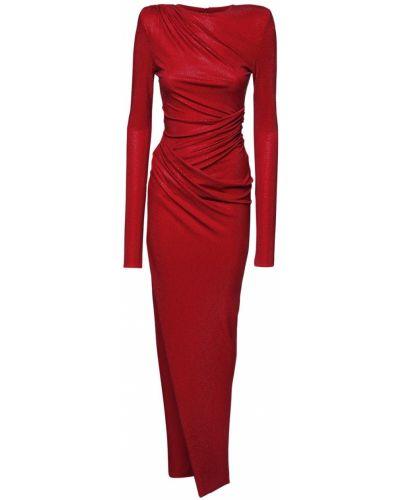 Трикотажное платье - красное Alexandre Vauthier