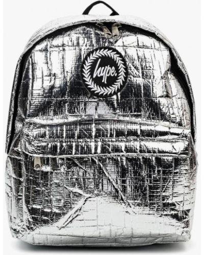 Рюкзак серебряного цвета Hype