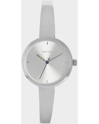 Водонепроницаемые часы с круглым циферблатом серебряные Parfois