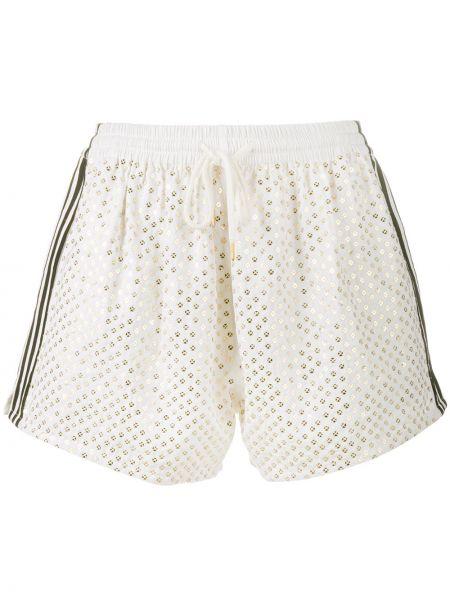 Белые шорты Ashish