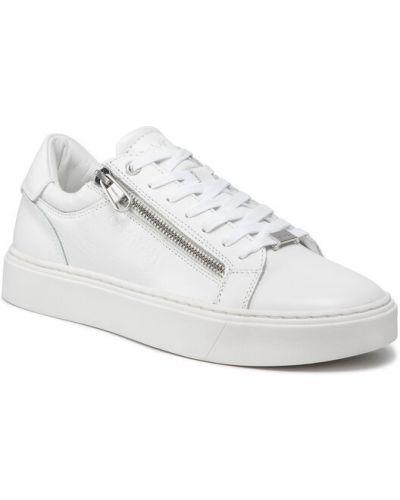 Sandały - białe Calvin Klein