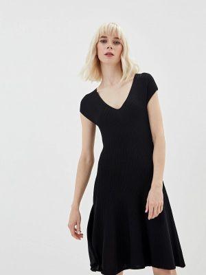 Платье прямое черное Lorani
