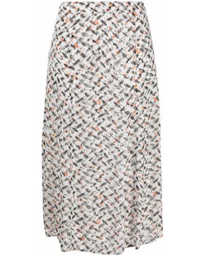 С завышенной талией белая юбка Lala Berlin