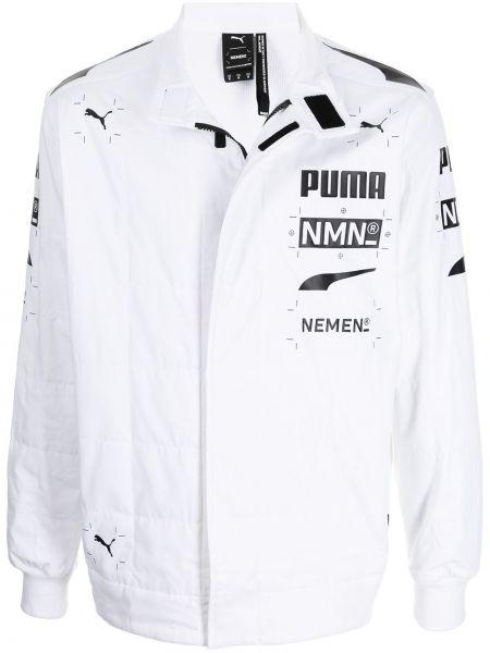 Длинная куртка - белая Puma