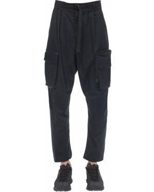 Czarne spodnie ciążowe z haftem Nike Acg