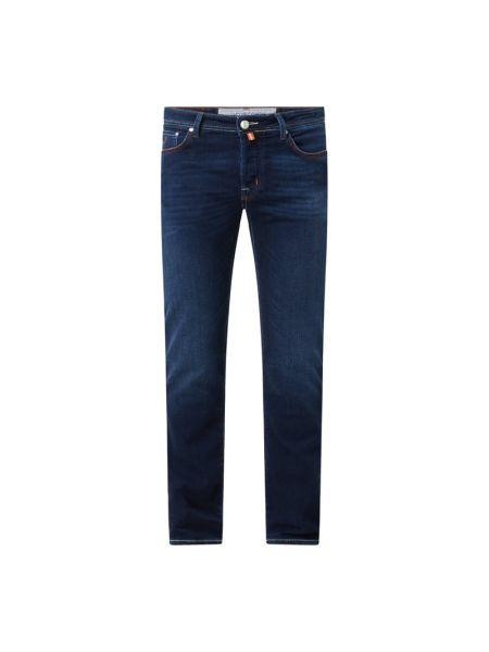 Niebieskie jeansy bawełniane Jacob Cohen