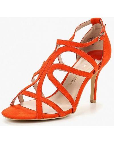 Красные босоножки на каблуке Dorothy Perkins