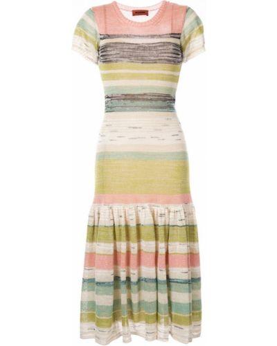 Платье мини миди с баской Missoni