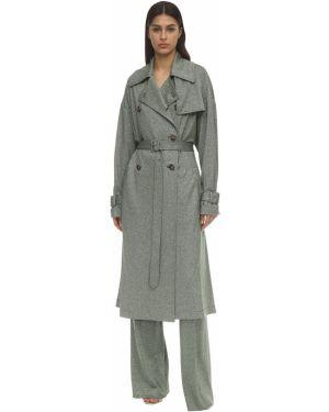 Трикотажный пиджак двубортный с поясом M Missoni