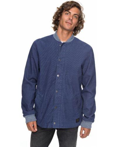 Синяя джинсовая куртка Quiksilver
