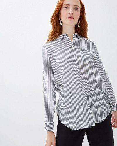 Блузка с длинным рукавом серая Sela