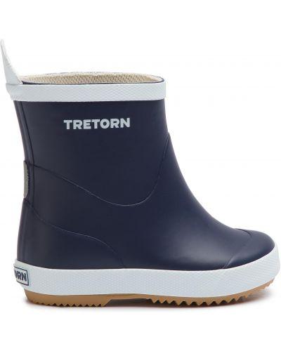 Резиновые сапоги - синие Tretorn