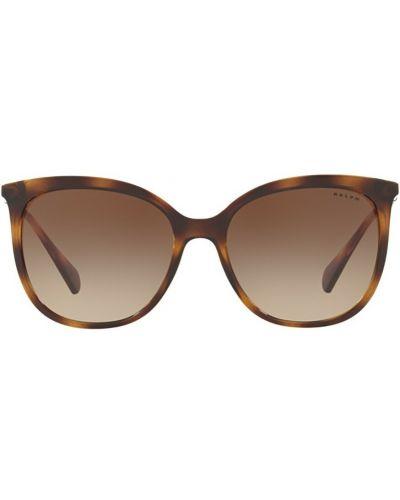 Brązowe okulary Ralph Lauren