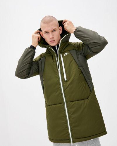 Утепленная куртка хаки Nike