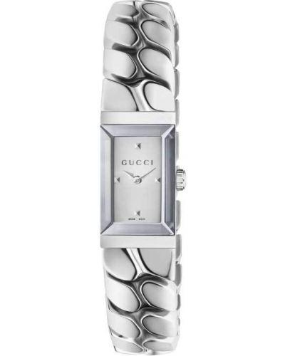 Белые часы Gucci