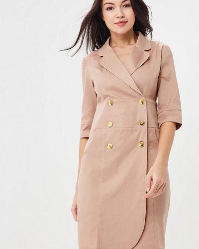 Бежевое платье Trendyangel