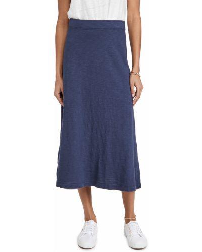Ватная трикотажная юбка на резинке Wilt