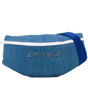 Niebieski pasek z paskiem bawełniany Bonpoint