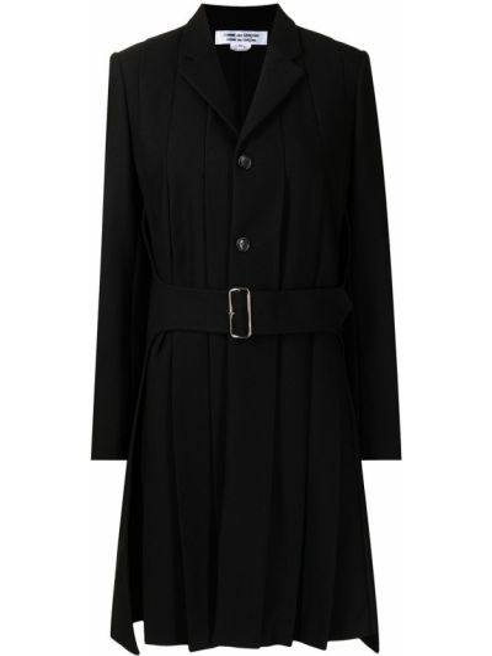 Черное пальто с лацканами Comme Des Garçons Comme Des Garçons
