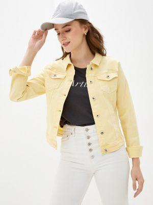 Джинсовая куртка - желтая Softy
