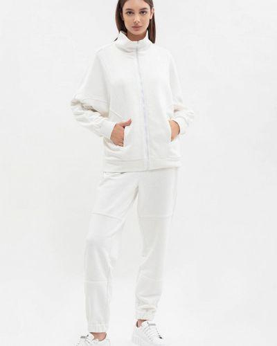 Белый костюм осенний Maxa
