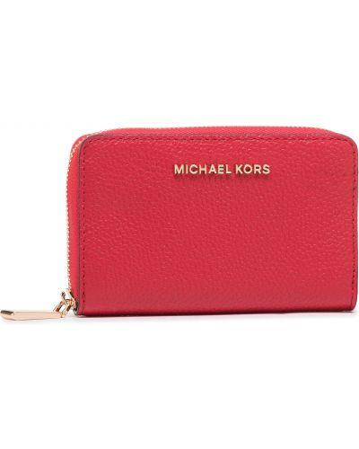 Portfel, czerwony Michael Michael Kors