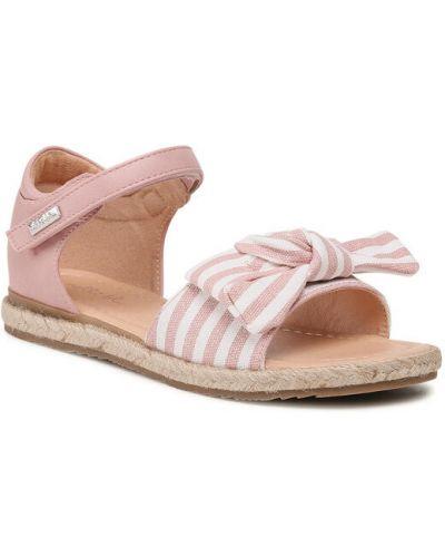 Różowe sandały espadryle Nelli Blu