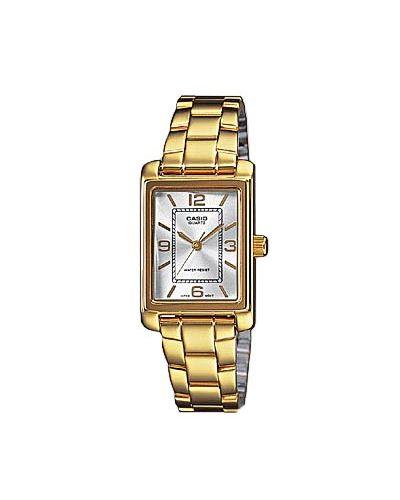 Żółty złoty zegarek Casio