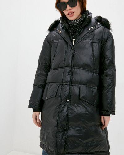 Джинсовая куртка - черная Trussardi Jeans