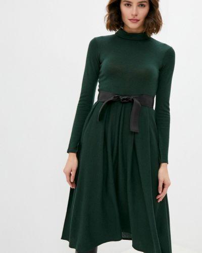 Вязаное зеленое платье Max&co