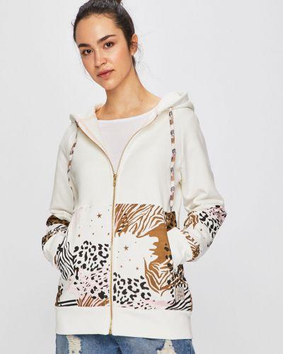 Кофта белая с карманами Femi Stories