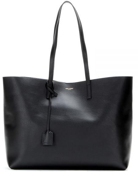 Кожаная сумка шоппер Saint Laurent