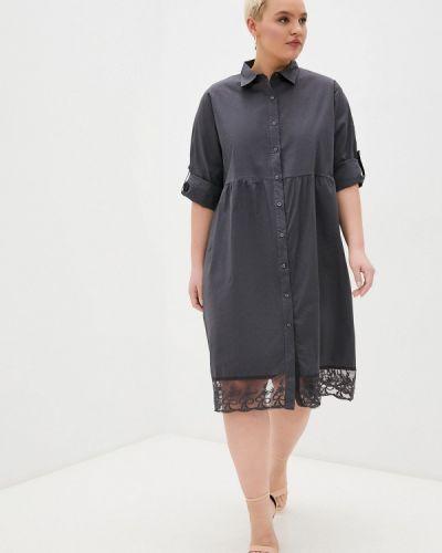 Серое платье Chic De Femme