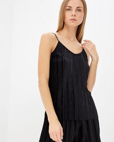 Черный топ пижамный Vero Moda