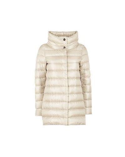 Бежевая куртка Herno