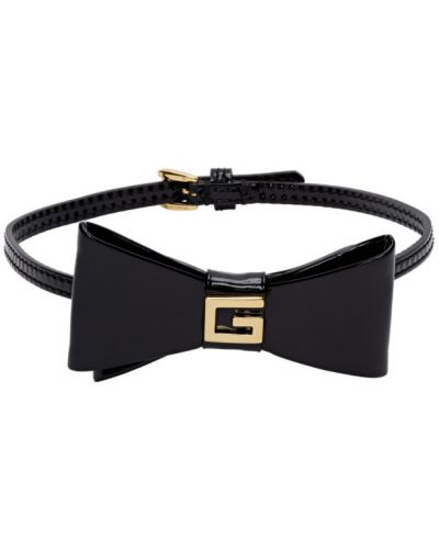Czarny złoty choker klamry Gucci