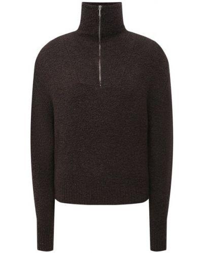 Шерстяной свитер - коричневый Magda Butrym